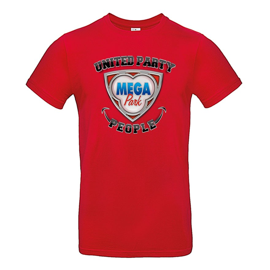 MEGA PARK United Party People HERREN T-Shirt
