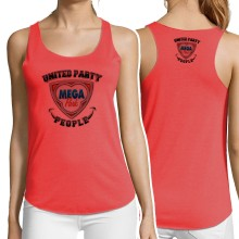 MEGA PARK United Party People GIRLIE lightweight Tanktop