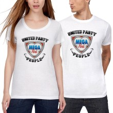 MEGA PARK United Party People SOMMER T-Shirt