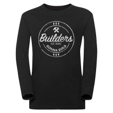 Builders Gonna Build Langarm-Shirt SLIM FIT